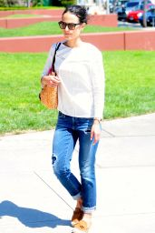 Jordana Brewster - Out and About in Los Angeles, September 2015