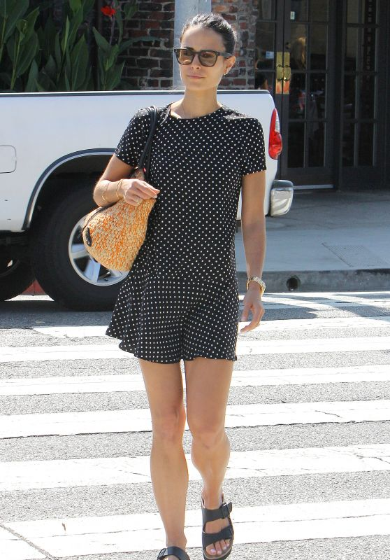Jordana Brewster - Out in Brentwood, September 2015