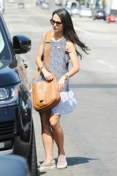 Jordana Brewster - Out in Los Angeles, September 2015