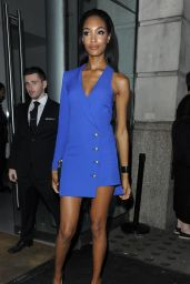Jourdan Dunn – Versus Show – London Fashion Week, September 2015