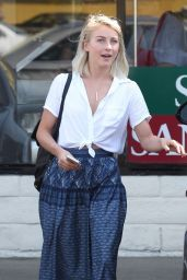 Julianne Hough Casual Style - Out in Culver City, September 2015