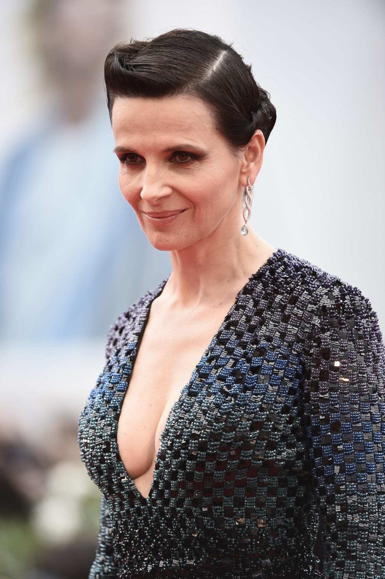Juliette Binoche - 'The Wait' Premiere - 72nd Venice Film ... Uma Thurman Fall Out