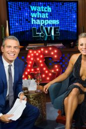 Kaley Cuoco - Whatch What Happens Live, September 2015
