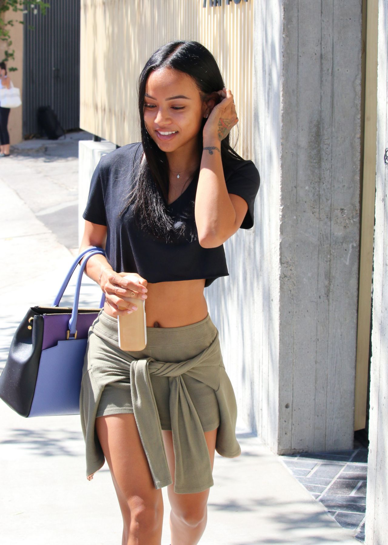 Karrueche Tran Out In Beverly Hills Septemebr 2015