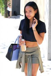 Karrueche Tran - Out in Beverly Hills, Septemebr 2015