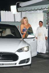 Kate Hudson Leaving Giorgio Baldi - August, 2015