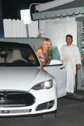 Kate Hudson Leaving Giorgio Baldi - August, 2015