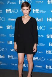 Kate Mara - Man Down Press Conference at 2015 Toronto International Film Festival