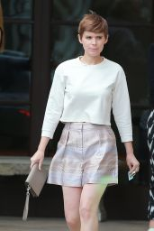 Kate Mara Style - Out at Melrose Ave in Los Angeles, September 2015