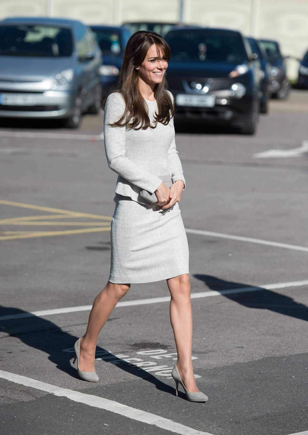 Kate Middleton Style Visits Rehabilitation Of Addicted Prisoners Trust At Hmp Send In Woking