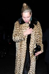 Kate Moss Night Out Style - London, September 2015