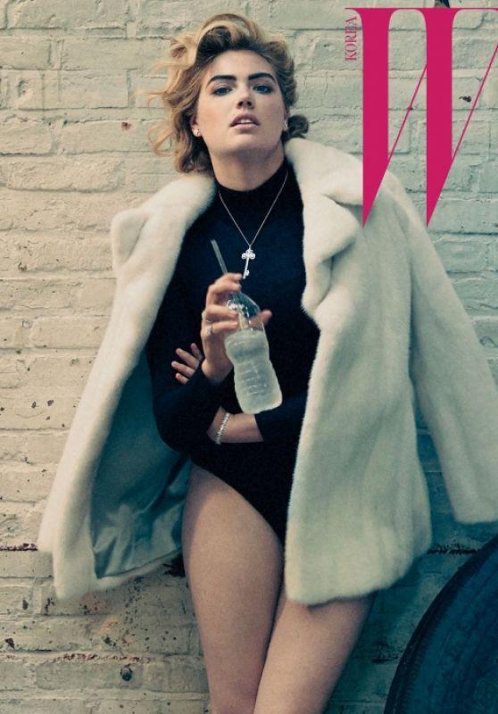 Kate Upton - W Magazine Korea October 2015