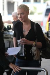 Katherine Heigl is Set to Depart on Her Flight at LAX, September 2015