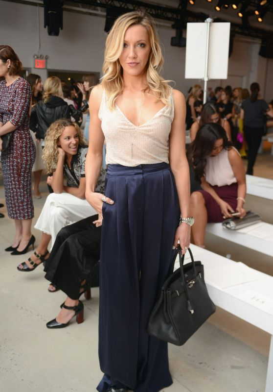 Katie Cassidy - Jenny Packham Show at New York Fashion Week, September 2015