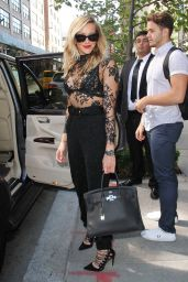 Katie Cassidy Leaving Her Hotel in New York City, September 2015