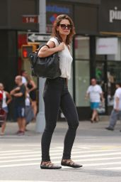 Katie Holmes - Out in NYC, August 2015