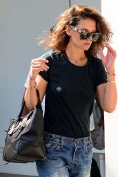 Katie Holmes Street Style - Out in Santa Monica, September 2015