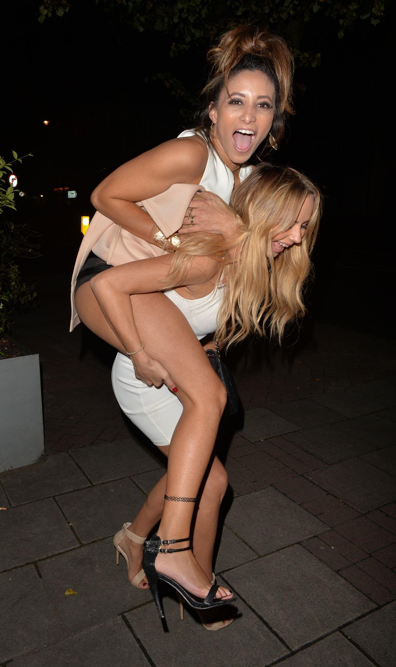 Kayleigh Morris in Blue Bikini in Cyprus Pic 10 of 35
