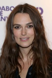 Keira Knightley - Roundabout 50th Anniversary at the Roundabout Theater in New York City