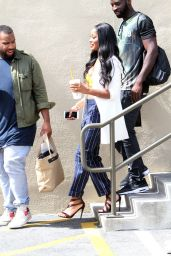 Keke Palmer Casual Style - Leaving WB Studios in Los Angeles, September 2015