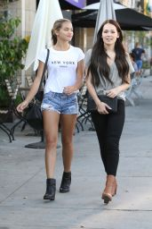 Kelli Berglund & Paris Berelc - Shopping in Los Angeles, September 2015