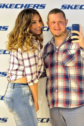 Kelly Brook - Skechers Store Opening in Belfast, September 2015