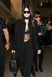 Kendall Jenner Airport Style - at LAX Airport in LA, September 2015