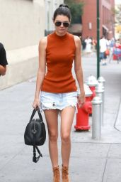 Kendall Jenner and Hailey Baldwin - Out in NYC, August 2015