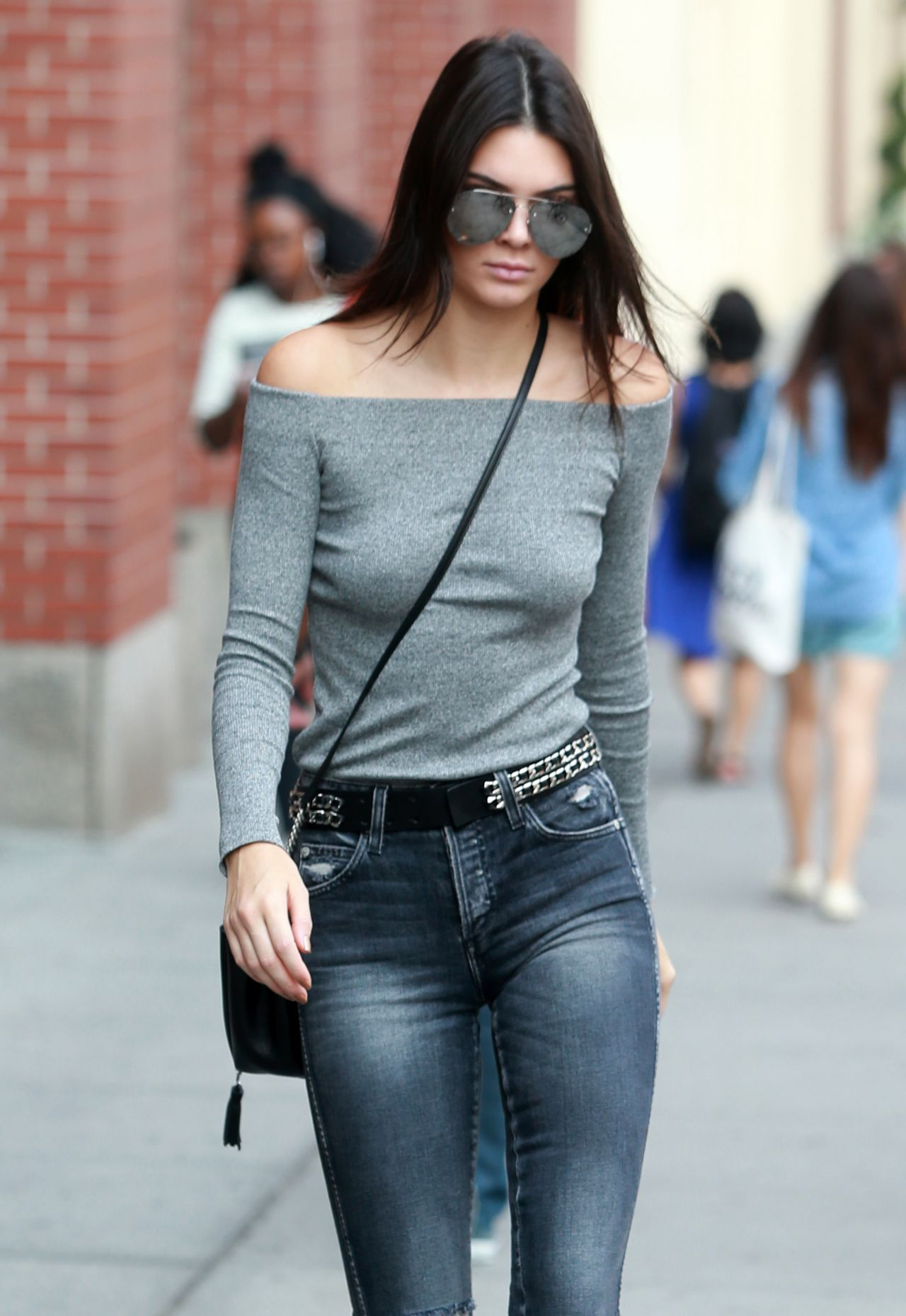 Kendall Jenner Casual Style Leaving Her Apartment In New