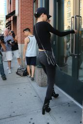 Kendall Jenner Casual Style - Out & About in New York, September 2015