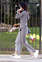 Kendall Jenner in Tights - Out in Los Angeles, September 2015
