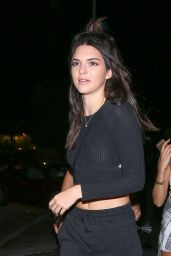 Kendall Jenner - Jordan Woods Birthday Party in Los Angeles, September 2015