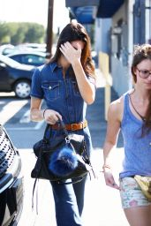 Kendall Jenner - Leaving the Studio in LA, September 2015