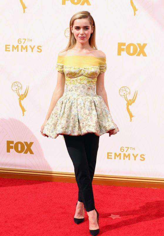 Kiernan Shipka – 2015 Primetime Emmy Awards in Los Angeles