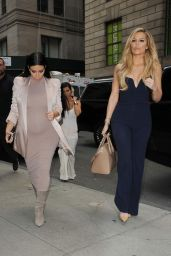 Kim Kardashian Style - Leaving Her Apartment in NYC, September 2015