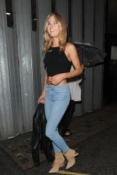 Kimberley Garner Booty in Tight Jeans - Out in London, September 2015