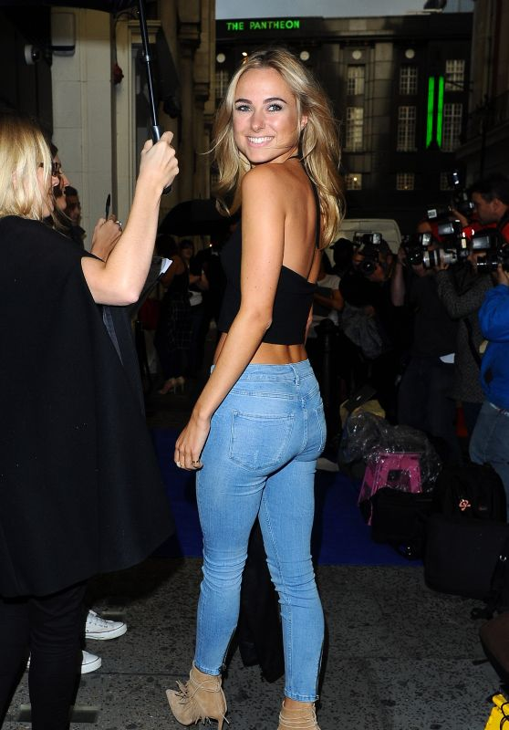 Kimberley Garner Booty in Tight Jeans – Out in London, September 2015