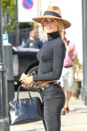Kimberley Garner Casual Style - Out in London, September 2015