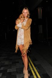 Kimberley Garner - Leaving Savannah Miller for Debenhams Launch Party in London