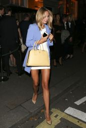 Kimberley Garner Style - Night Out in London, September 2015