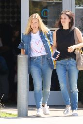 Kristen Bell & Rachel Bilson - Out in Los Angeles, September 2015