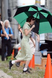 Kristen Stewart - New Woody Allen Movie Set in NYC, September 2015