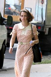Kristen Stewart - On Set of New Woody Allen Movie in NY, September 2015