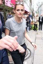 Kristen Stewart - Out in Toronto, September 2015