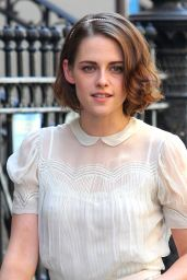 Kristen Stewart - Set of New Woody Allen Movie, September 2015