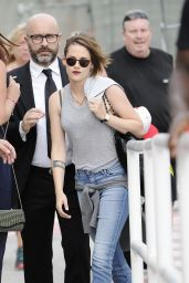 Kristen Stewart Style - Out in Venice, Italy, September 2015