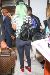 Kylie Jenner Airport Style - LAX Airport in Los Angeles, September 2015