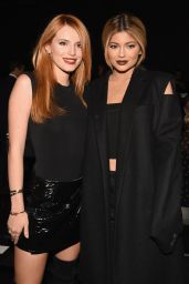 Kylie Jenner & Bella Thorne – Vera Wang Fashion Show in NYC, September 2015