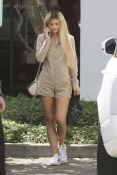Kylie Jenner - Business Meeting at Spatz Laboratories in Oxnard, September 2015
