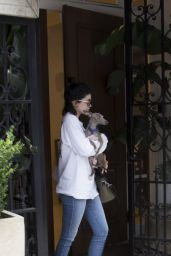 Kylie Jenner Gets Into a Waiting Car After Leaving Epione Cosmetic Laser Center in Beverly Hills